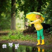 Летний дождь :: Елена Рябчевская