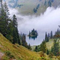 островок парящий  в тумане :: Elena Wymann