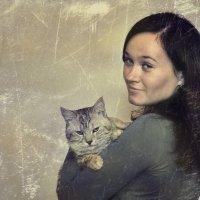 С котом :: Юрий ОВОДКОВ