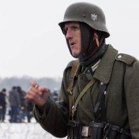 Участник реконструкции боя у переезда Набокино :: Ирина Холодная