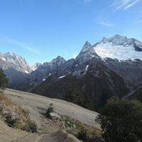 горы Домбая :: Валерия Тарасова