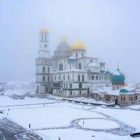 Новый Иерусалим, мороз, туман :: Илья Шипилов