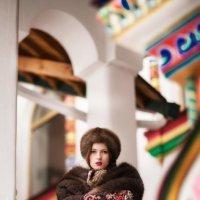 Красавица боярыня Ольга :: Александра Капылова