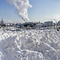 Зима на Васильевском. :: Александр Бабаев