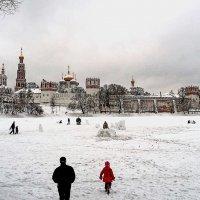 Нводевичий зимой :: Борис Соловьев