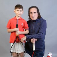 Детский теннис и мода, Заури Абуладзе, :: Заури Абуладзе