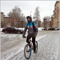 3 февраля 2018 - Третий зимний велопарад в Ижевске :: muh5257