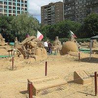 Международная выставка песчаных фигур. :: Владимир Драгунский