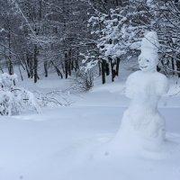 снеговик :: Александр Матюхин