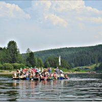 Река Чусовая на Среднем Урале :: Leonid Rutov