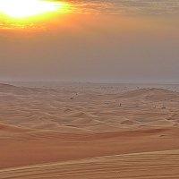 Закат в пустыне.. :: Виталий Селиванов