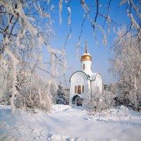 зимний Новокузнецк :: Юрий Лобачев