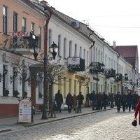 Пешеходная улица в Гродно. :: Paparazzi