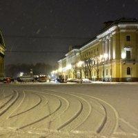 снежно на Исаакиевской :: Елена