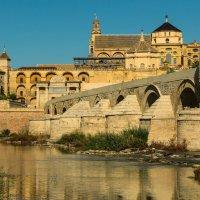 Вид на Мескиту (Кордовская соборная мечеть) с другого берега Гвадалквивира :: Владимир Брагилевский