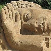 Международная выставка песчаных фигур :: Владимир Драгунский