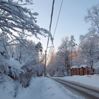 Улица зимой :: Вера Щукина