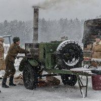 """Реконструкция """"Битва за Москву зимой 1941-1942 г.г."""" :: Борис Гольдберг"""