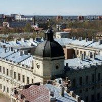 Вид со смотровой площадки  на Сигнальной башне  Большого Гатчинского дворца :: Елена Павлова (Смолова)