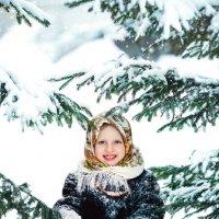 Русская зима :: Елена Рябчевская