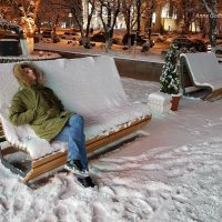 Снежные пледики. :: Anna Gornostayeva