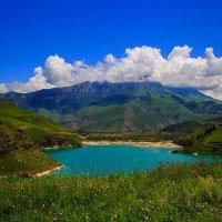 Озеро Гижгит :: Леонид Сергиенко