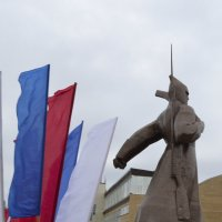 Памятник геpоям :: Анастасия Фомина