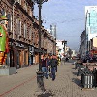 Пешеходная улица Вайнера в Екатеринбурге. :: Пётр Сесекин