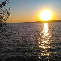 Закат на Сурском водохранилище г.Пенза :: Евгения Трушкина