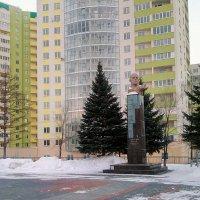 Памятник Дмитрию Карбышеву :: Александр Алексеев