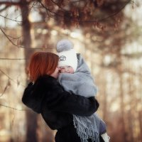 счастливая мама :: Олька Никулочкина