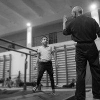 Тренер и ученик :: Сергей Форос