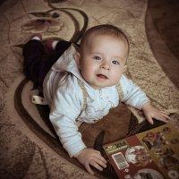 маленький любитель книжек :: Marina Timoveewa