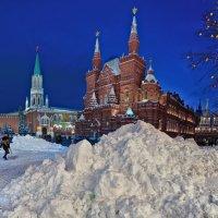 Снежная площадь Страны :: Ирина Шарапова
