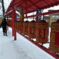 Молитвенные Барабаны. :: Марина Харченкова