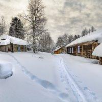 Февраль в деревне... :: Федор Кованский