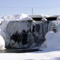 Зимний водопад. :: Елена Тренкеншу