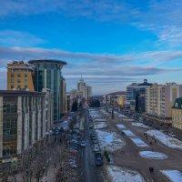 Вид со смотровой площадке Кафедрального Собора Феодора Ушакова на Саранск. 1. :: Андрей Ванин