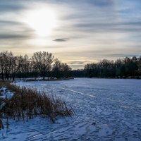 Зимний вечер............... :: Александр Селезнев
