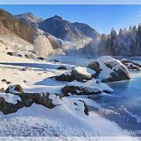 Горы зимой :: Лидия (naum.lidiya)