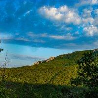 Бархатные горы, голубые небеса... :: Сергей Михайлович