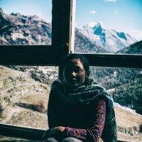Владелица одного из многочисленных Guset House в районе Аннапурны, Непал. Декабрь 2017. :: Игорь Сон