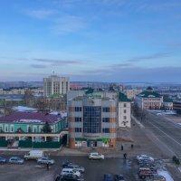 Вид со смотровой площадке Кафедрального Собора Феодора Ушакова на Саранск. 4. :: Андрей Ванин