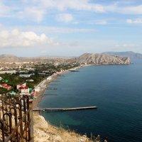 Вид с Генуэзской крепости Крым Судак :: Леонид Дудко