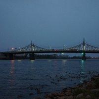 Староволжский мост (Старый мост) — автомобильный и первый постоянный мост через реку Волга в городе :: Елена Павлова (Смолова)