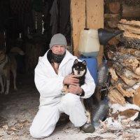 Я и мой Сиба-Ину:) :: Олег Помыткин
