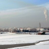 Обь Левый берег. :: Елена Тренкеншу