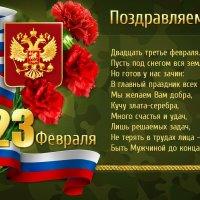С праздникои дорогие мужчины! :: Вера Щукина