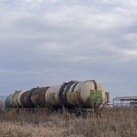Цистерны на подъездных путях от станции Чемровка недалеко от г. Бийска :: Иван Зарубин