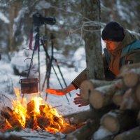 Можно вечно смотреть на огонь. :: Дима Хессе